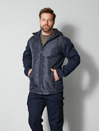 Hybrit-Jacke Spezialschnitt