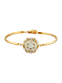 Armband mit Jade und Peridot