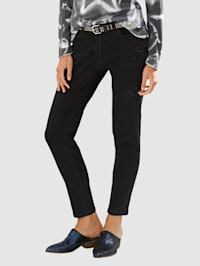 Jeans mit Sternen Cut out