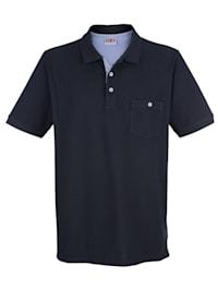 Poloshirt in reiner Baumwolle