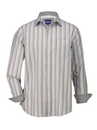 Overhemd met 1 borstzak