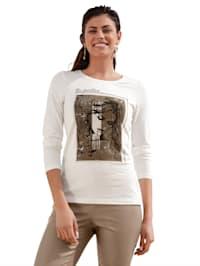 Tričko s motivem na předním dílu