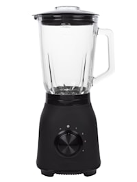 Edelstahl-Standmixer 'Black Steel - 212092', 6 Klingen, 1,5 Liter Glaskrug, 1000 Watt
