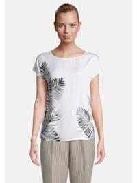 Patchwork-Shirt kurzarm