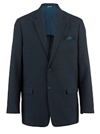 Veste de costume à motif carreaux ravissant