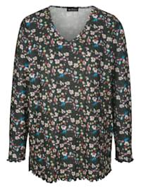Tričko v jemné pletené kvalitě