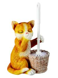 WC-Bürsten-Garnitur 'Katze'