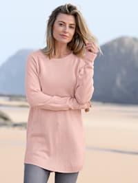 Pullover in längerer Form