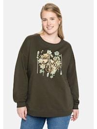 Sweatshirt mit 3D-Druck