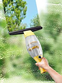 CLEANmaxx Akku-Fensterreiniger mit praktischer Verlängerungsstange