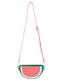 Umhängetasche in Melonenoptik