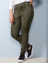 Pantalon avec couture allongeante