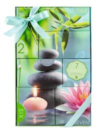 """Geschenkset """"7 DAYS OF WELLNESS"""" 7 x einzeln verpackt in ein einer tollen Geschenkbox"""