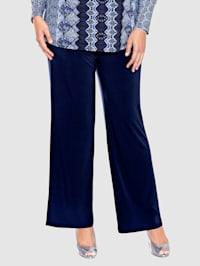 Pantalon facile à enfiler de coupe confortable