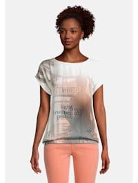 Printshirt mit Print