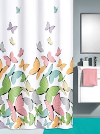 Douchegordijn Vlinder