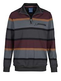 Sweatshirt in bügelfreier Qualität