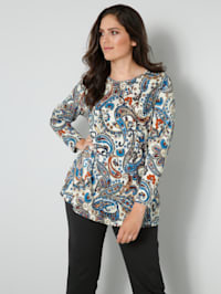 Shirt mit Paisleymuster