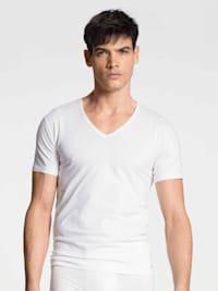 T-Shirt, V-Neck STANDARD 100 by OEKO-TEX zertifiziert