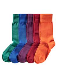 Trendové ponožky, ve svěžích barvách