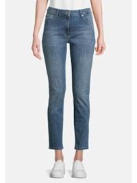Basic-Jeans mit Waschung Stone-Waschung