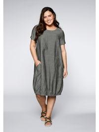 Kleid mit Rippeinsatz