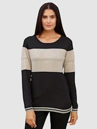Pullover mit glänzenden Lurexfäden