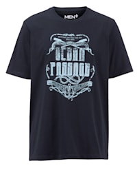 Printillinen puuvillainen T-paita