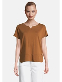 Casual-Shirt kurzarm