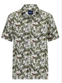 Overhemd met reverskraag