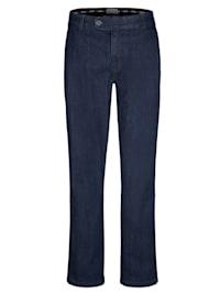 Jeans med komfortresår på insidan av linningen