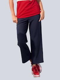 Kalhoty z elastického žerzej materiálu