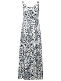 Maxi Kleid mit Blumen Print