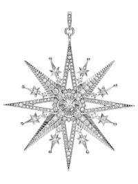 Stern-Anhänger mit synth. Zirkonia Thomas Sabo PE819-643-14