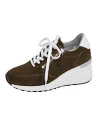 Šnurovacia obuv s extra vysokým klinovým podpätkom