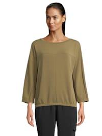 Casual-Sweatshirt mit Gummizug