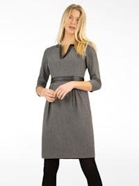 Kleid aus einer flauschigen Woll-Mischung