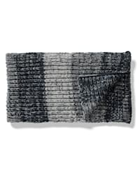 Sjaal van gemêleerd materiaal