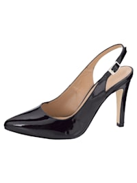 Sling obuv v modernom vzhľade
