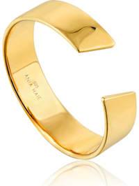 Ania Haie Damen-Damenring Geometry Wild Adjustable 925er Silber