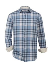 Flanelová košeľa s hrejivou vlnou