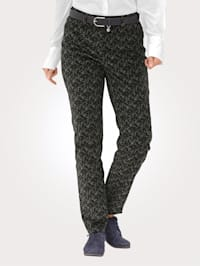 Trousers made from corduroy