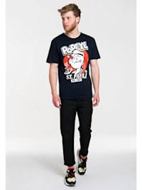 T-Shirt Popeye der Seemann - St Pauli mit lustigem Frontprint
