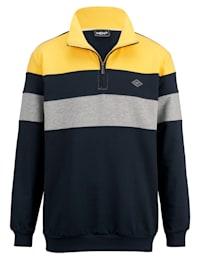 Sweatshirt met schipperskraag