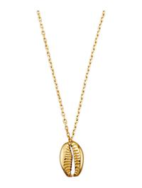 Halsband med sirlig kedja och havsinspirerad design