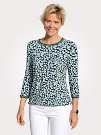 Shirt mit Minimal-Dessin