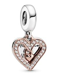 Charm-Anhänger - funkelndes Herz - 788693C01