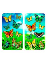 Spisskydd, 2 st. – fjärilar