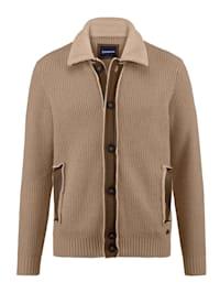 Vest met scheerwol