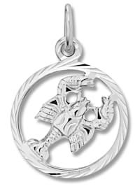 Damen Schmuck Sternzeichen Anhänger Krebs aus 925 Silber